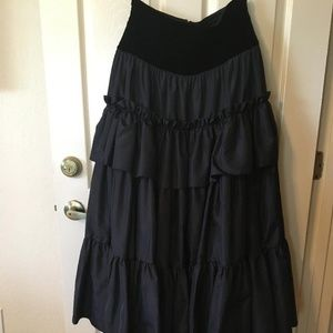 Dresses & Skirts - WOMEN'S BLACK LONG SKIRT by WAYNE CLARK SIZE 12